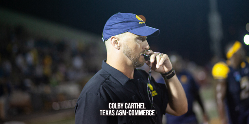 D2 Coaches Poll - Texas A&M-Commerce - WP Wk6