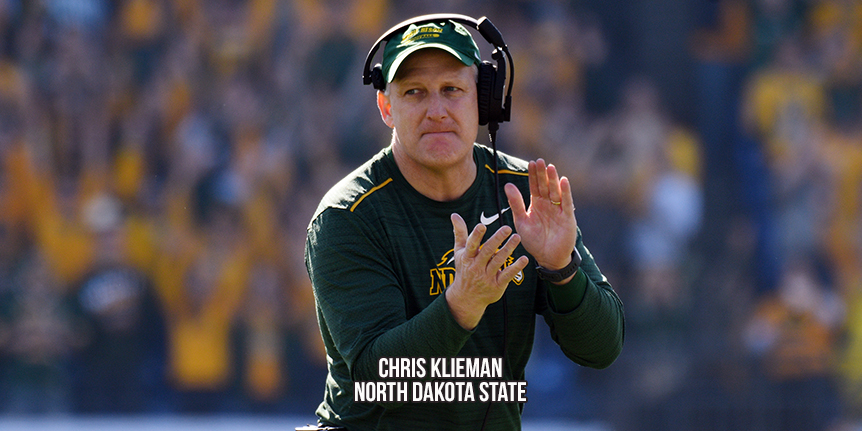 FCS Coaches Poll - North Dakota State - WP Wk8