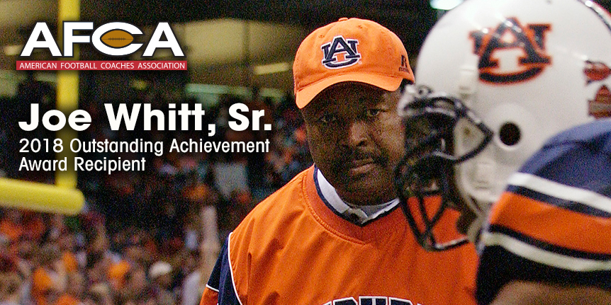 2018 Outstanding Achievement Award - WP - Whitt Sr