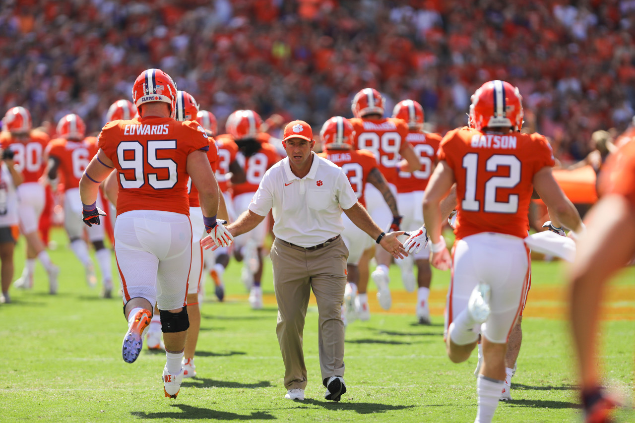 Werner Ladder AFCA FBS Regional Coach Of The Year - Dabo Swinney