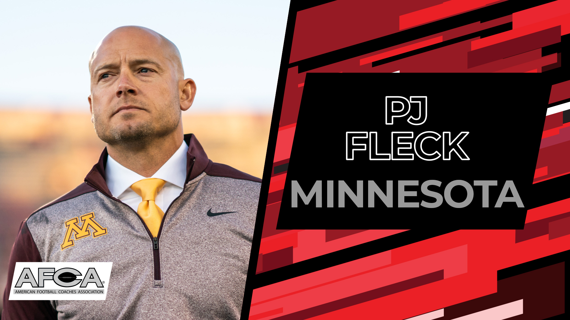 PJ Fleck - 2020 AFCA Convention Kickoff Live Stream